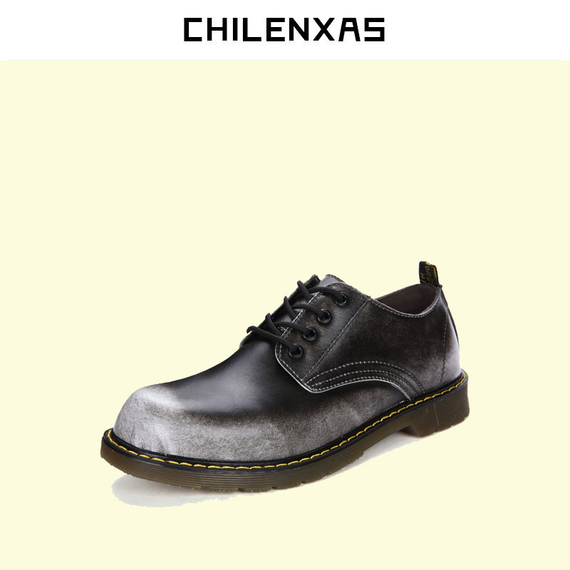 CHILENXAS 2017 New autumn winter Genuine Leather Casual Shoes Boots Designer men breathable fashion comfortable