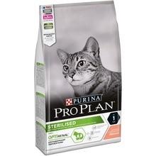 Сухой корм Purina Pro Plan для стерилизованных кошек и кастрированных котов, с лососем, 6 упаковок по 1.5кг