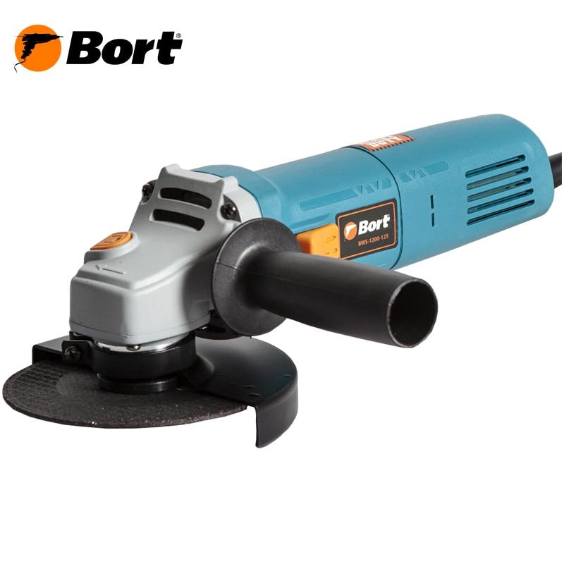 Angle grinder Bort BWS-1200-125 цена и фото