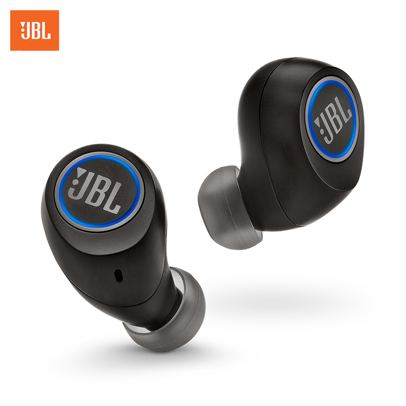 Wireless in-ear earphones JBL Free X loppo metal bass earphones comfortable in ear noise cancelling earbuds 3 5 mm microphone hi res audio half in ear earphone