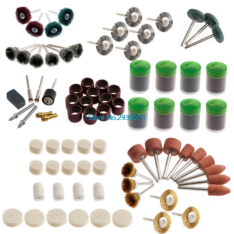 337Pcs/set Rotary Tool Accessory Kits Fits Dremel Grinding Sanding Polishing APR8