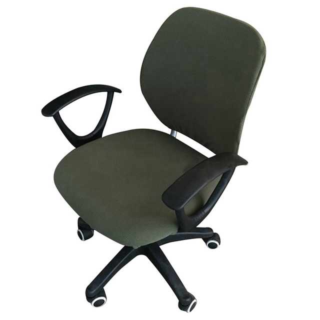 Office Chair Cover Rotating Slipcover Removable Washable Computer Elastic Seat Protector