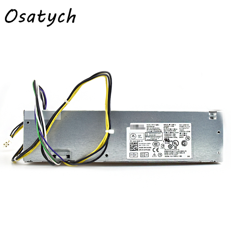 For DELL OptiPlex 3020 T1700 9020 Power Supply 255W H255AS-00 L255AS-00 YH9D7For DELL OptiPlex 3020 T1700 9020 Power Supply 255W H255AS-00 L255AS-00 YH9D7