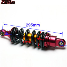 TDPRO 295mm Rear Shock Absorber Motorcycle Suspension For 140cc 150cc 160cc Dirt Pit Bike Pister
