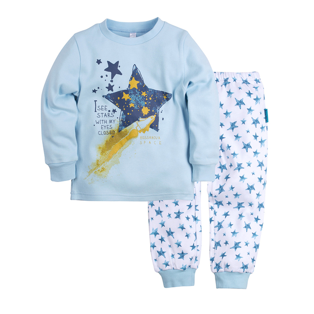 Пижама джемпер+брюки BOSSA NOVA для мальчиков 356m-361