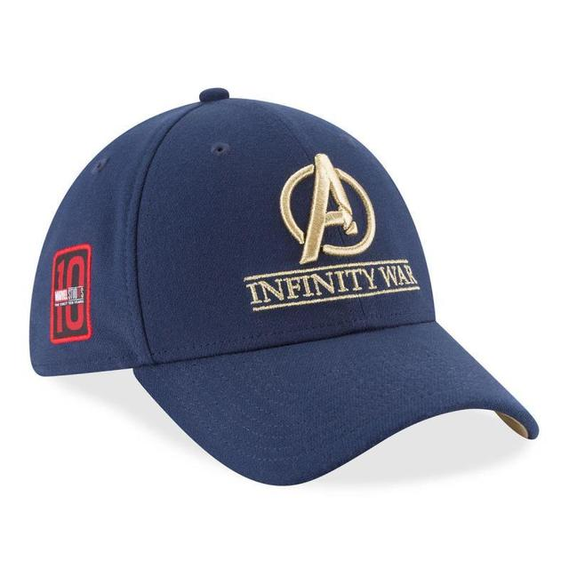 2018 Movie Avengers Infinity War Cosplay Hat New Era Crew Cap Collectors Hats  Thanos Infinity Gauntlet 895fb0d488d