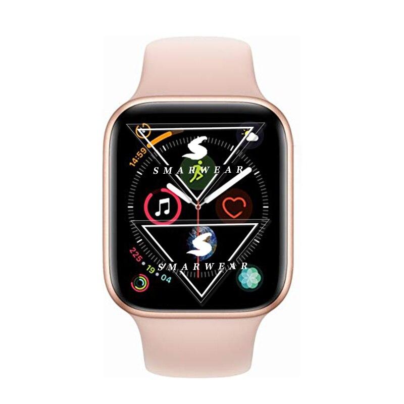 Умные часы серии 4 ips экран Поддержка пульсометр Bluetooth smartWatch для Xiaomi samsung iphone 6 7 8 X pk kw88 часы