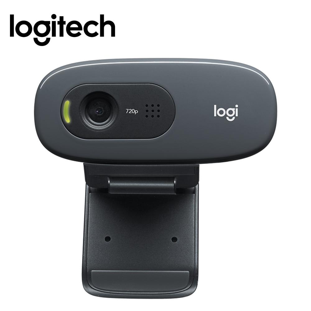 Logitech C270 HD computer webcam Built in Micphone USB2 0 720 pixels Mini Computer font b