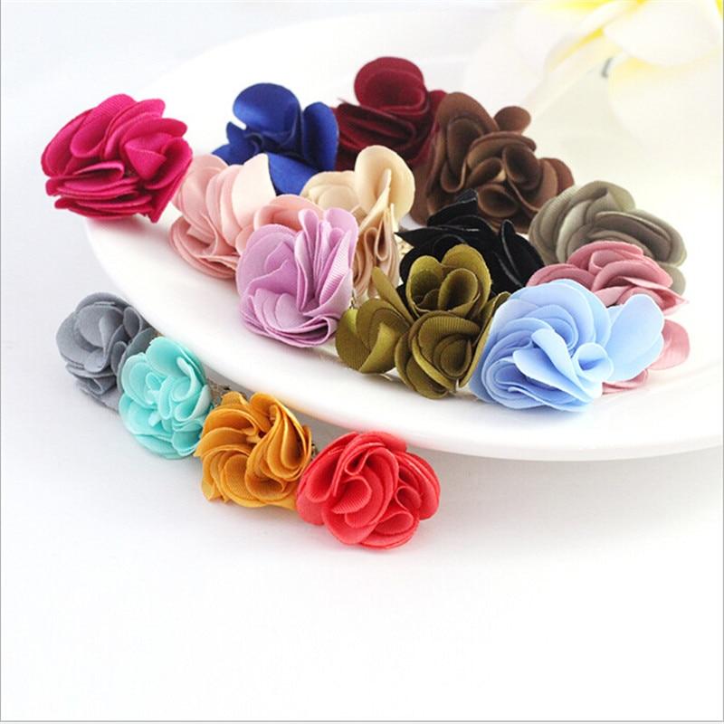 20 pçs/lote 27mm borlas de seda flor borla para brincos jóias fazendo diy acessórios resultados da jóia jóias