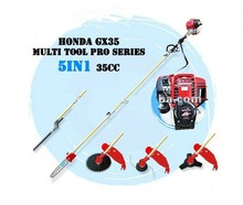 PROFESSIONAL GX35 4 STROKE 35CC ENGINE 5 IN 1 LONG REACH PRO MULTI TOOL BRUSH CUTTER WHIPPER SNIPPER