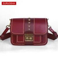 Luxury Brand Bag Women Square Box Bag Small Summer Shoulder Bags Quality Assurance Fashion Rivet Bag Made in Guangzhou