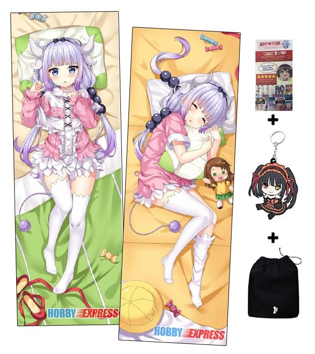 Hobby Express Kanna Kamui Dakimakura Japanese Otaku Waifu Hugging Body Pillow Cover ADP93035