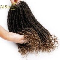 16 дюймов искусственного Locs вязанная косами мягкого натурального канекалон синтетических волос для женский, черный 24 стоит упаковке богиня ...