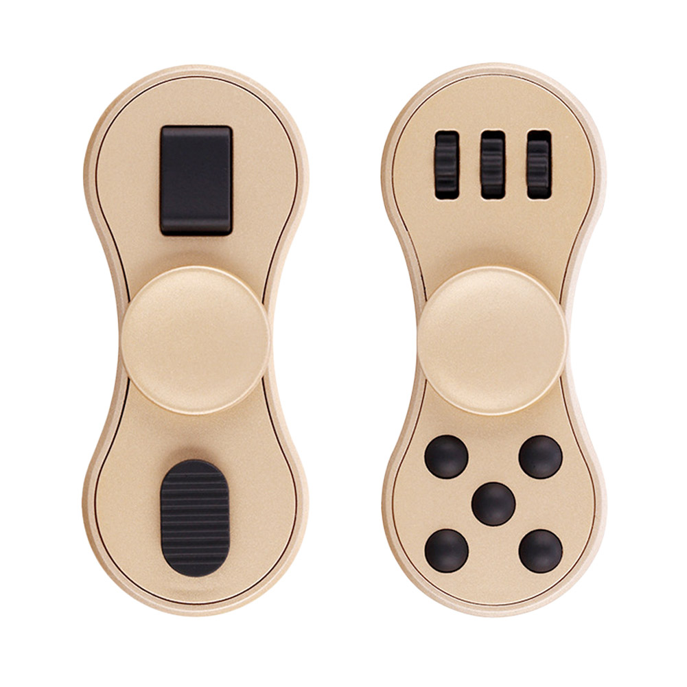 Multifunction Finger Spinner Fidgets ABS Toy EDC Hand Spinner For Autism And ADHD Rotate Funny Anti Stress Toys