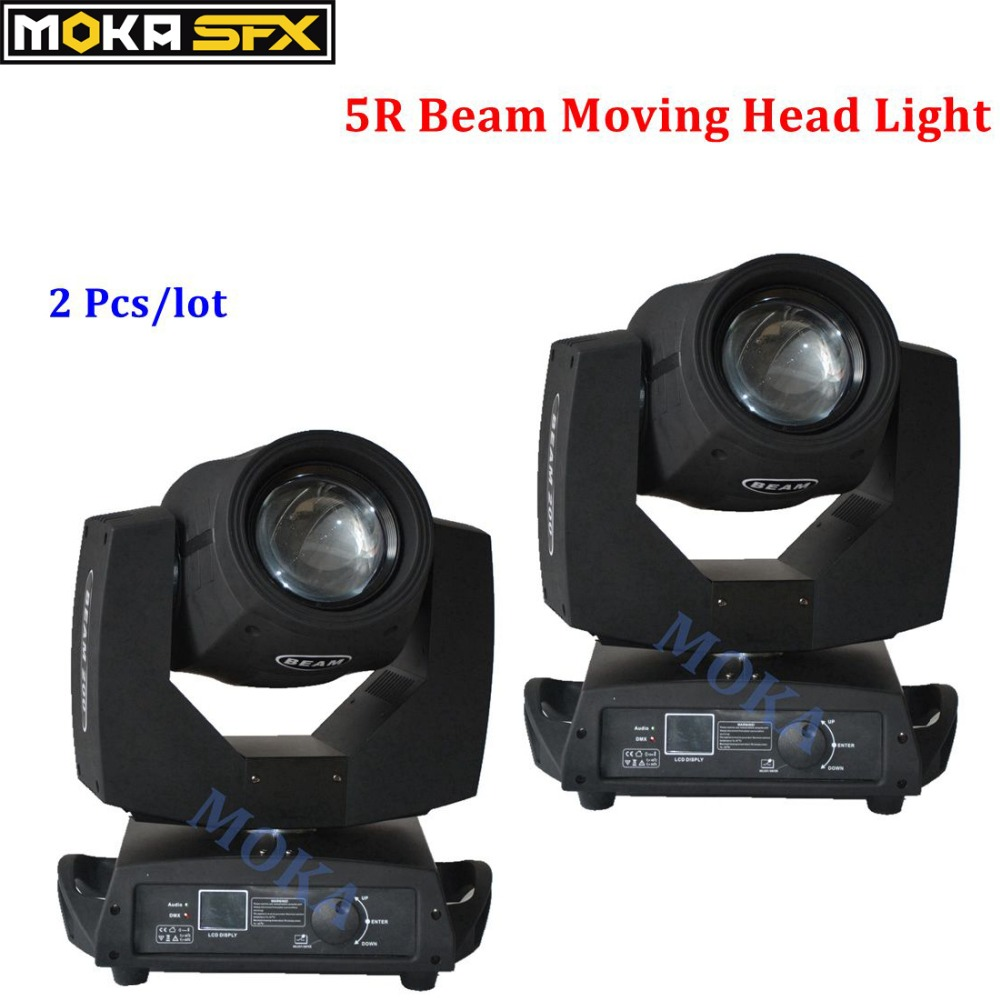 все цены на 2pcs/lot 200w Moving Head Light 5r Sharpy Spot Zoom Focus Stage Lighting DMX for Wedding Stage Show Disco Party Decoration онлайн