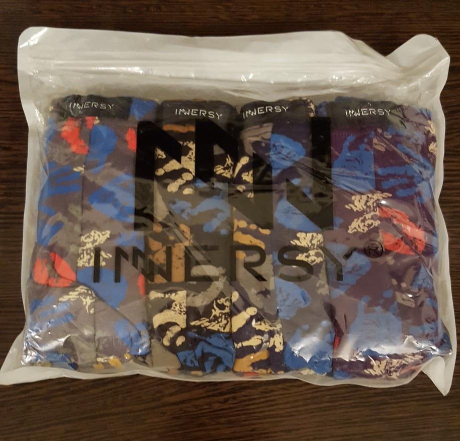 Innersy Shorts Mens 4Pcs\lot Best Selling Mens Underwear Boxers Modal Boxer Men Printed Boxer Shorts Boxers Mens Underwear