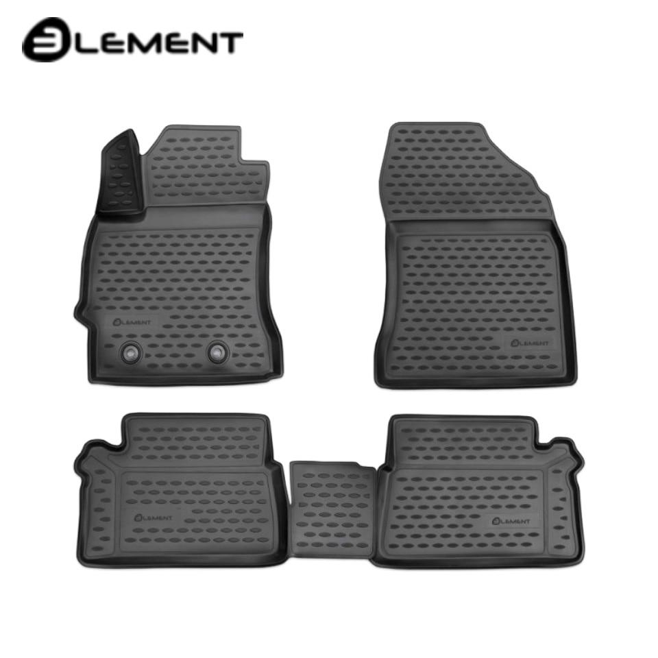 For Toyota Auris II 2013-2019 3D floor mats into saloon 4 pcs/set Element NLC3D4862210K паяльник element 947 ii