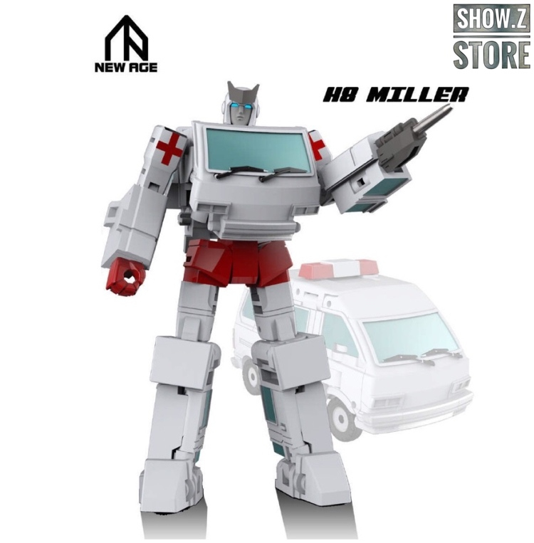[Show.Z Store] NewAge New Age NA H8 H-8 Miller Ratchet Transformation Action Figure