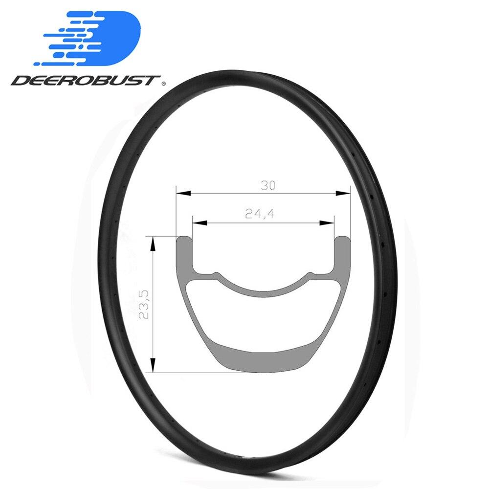 320g Carbon Mountain Bike Rims 23.5mm x 30mm XC CROSS COUNTRY Bicycle Wheel MTB Rim 29er 27.5er 650B Hookless Tubeless Clincher320g Carbon Mountain Bike Rims 23.5mm x 30mm XC CROSS COUNTRY Bicycle Wheel MTB Rim 29er 27.5er 650B Hookless Tubeless Clincher