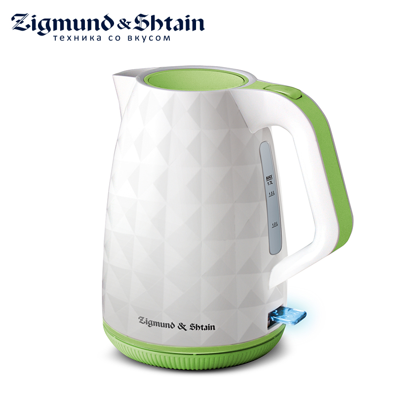 Zigmund & Shtain KE-619 Electric kettle Constant Temperature Control Electric Water Kettle 1,7L Thermal Insulation teapot 907 constant temperature electric soldering iron lead free 60w