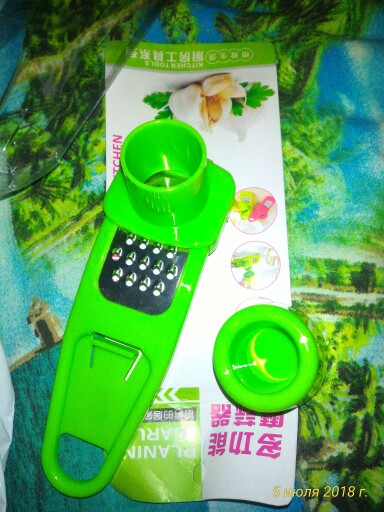 Multi-Purpose Grinding Garlic Tools PP Plastic Mini Ginger Grinder Garlic Grater Cutter Slicer Practical Kitchen Tools Gadgets