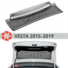 Накладка на крышку багажника для Lada Vesta 2015-2019 аксессуары защитный кожух задняя дверь Декор Защитная оклейка автомобилей
