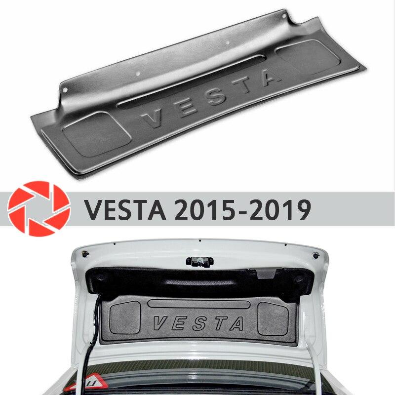 Trim op de kofferdeksel voor Lada Vesta 2015-2019 accessoires beschermhoes guard achter deur decor bescherming auto styling