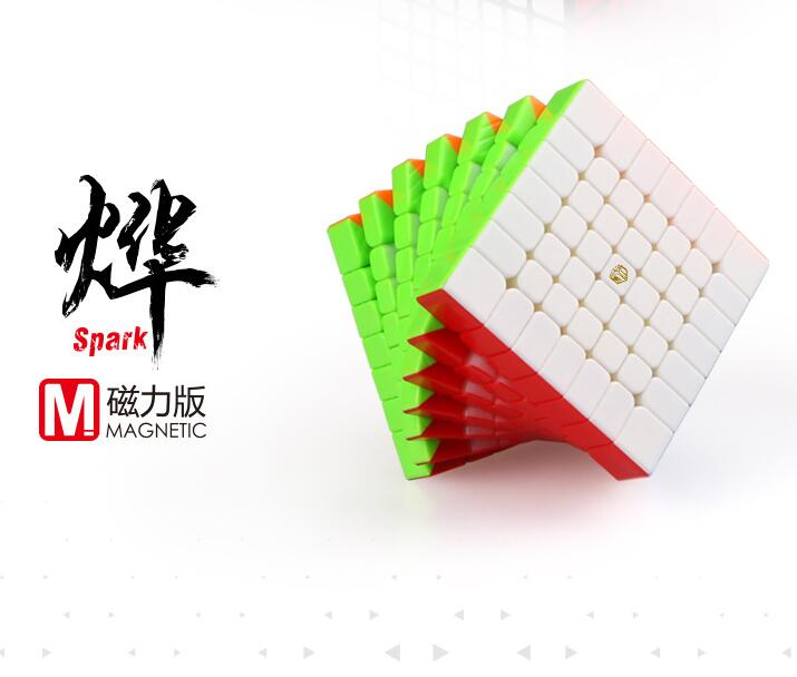 mofangge Spark 7 Layer M Magnetic Cubo Magico Stickerless