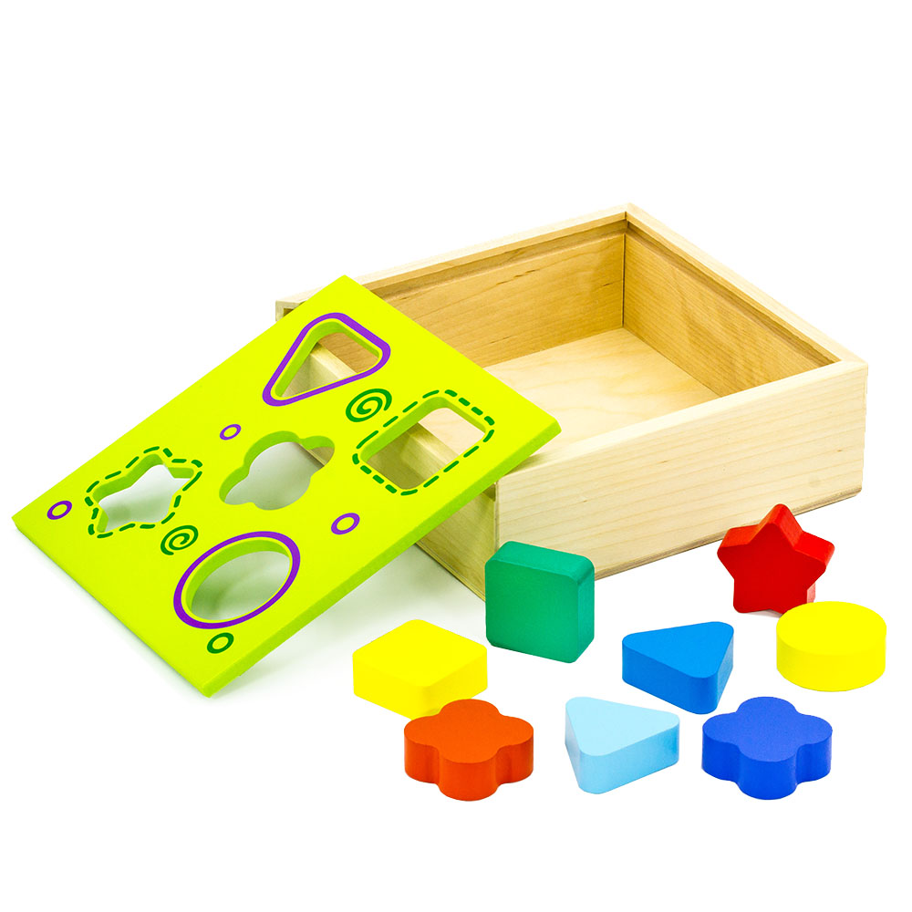 Magic Cubes Alatoys COR03 play building block set pyramid cube toys for boys girls abc magic cube shape coin storage box