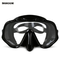 Copozz Anti Fog Diving Goggles Scuba Mask Glasses Silicone Large HD View Tempered Mirrored Lens Wearproof