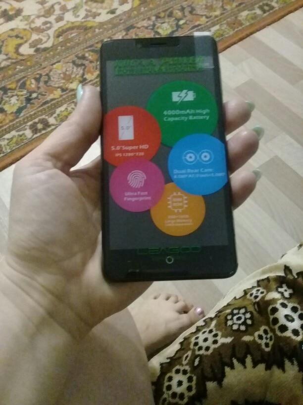LEAGOO KIICAA Питания Android 7,0 мобильный телефон с двумя камерами 4000 мАч 5,0 дюймов mt6580a четыре ядра 2 ГБ Оперативная память 16 ГБ смартфон с отпечатками пальцев