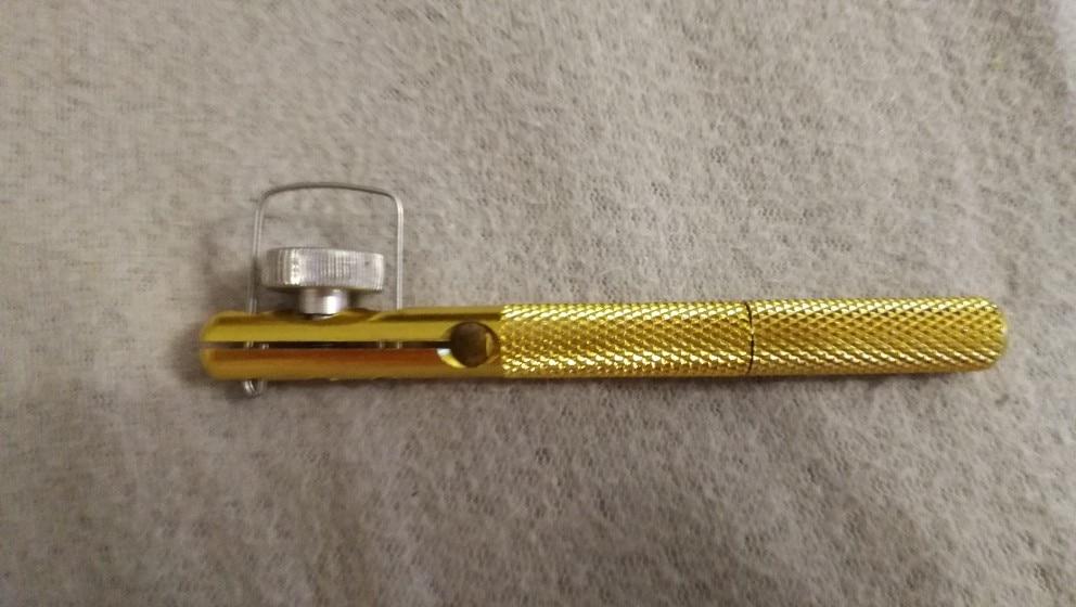 Full Metal Fishing Hook Knotting Tool & Tie Hook Loop Making Device & Hooks Decoupling remover Carp Fishing Accessory