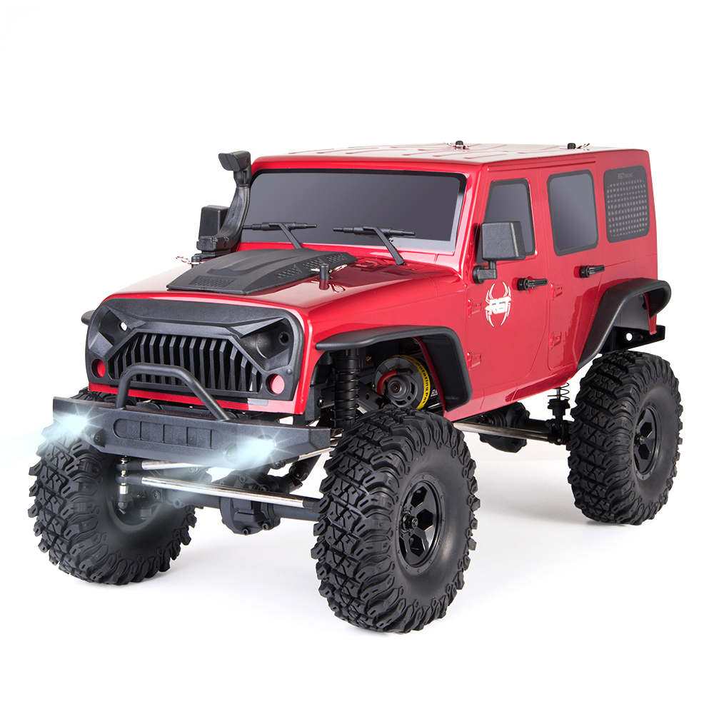 RGT RC Crawler 1:10 Scale 4wd RC Car Off Road Monster Truck RC Rock Cruiser EX86100 Hobby Crawler RTR 4x4 Waterproof RC Toys kulak 4x4 1 18th rtr electric powered off road crawler 94680
