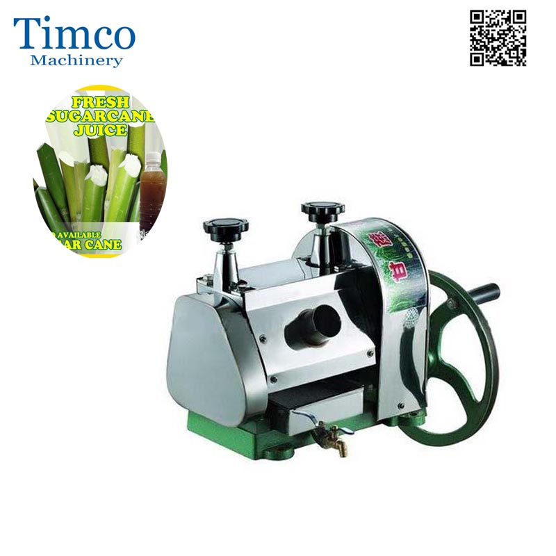 Manual Sugarcane Juicer Extractor Machine Home Commercial Table Stainless Steel Ginger Extractor