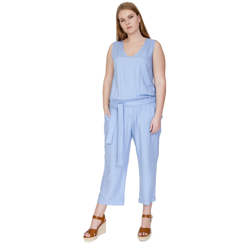 Jumpsuits, Playsuits and Bodysuits VISAVIS TP3528 Viscose summer women TmallFS neoclima тпп 6 blue