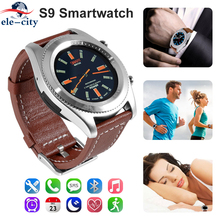S9 NFC Smartwatch Heart Rate Monitor Bluetooth 4.0 Smart watch Bracelet Wearable devices for iOS Android All-Weather Monitoring