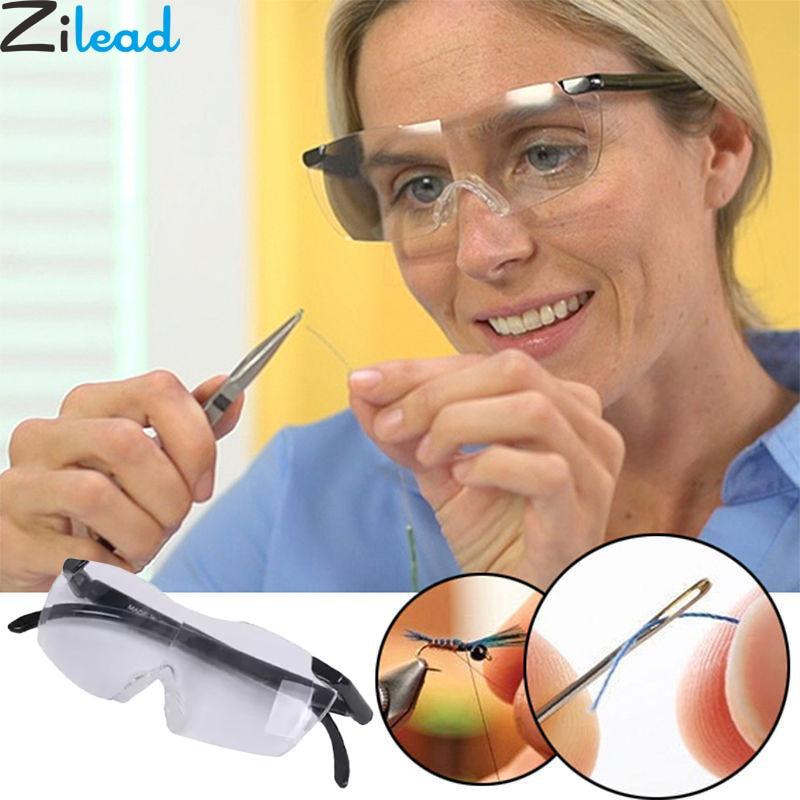 Zilead 250 Gradi di Visione Occhiali Magnifier della lente di Ingrandimento Occhiali Occhiali Da Lettura Portatile Regalo Per I Genitori Da Presbite Ingrandimento 1