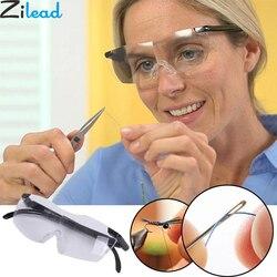 Zilead 250 градусов видения очки лупа увеличительные очки для чтения портативный подарок для родителей дальнозоркости увеличение