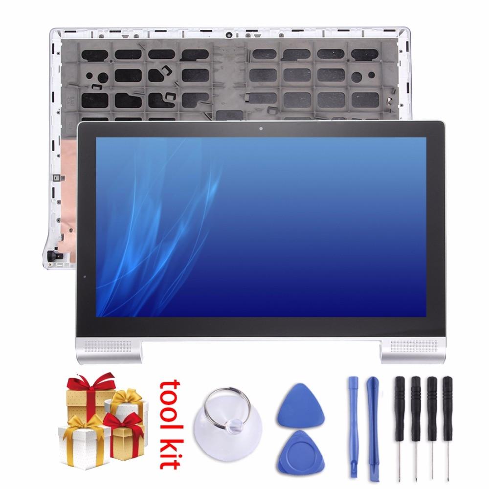 Nouveau pour 13.3 pouce Lenovo YOGA Tablet 2 Pro 1380 Écran LCD et Digitizer Assemblée Complet avec Cadre pièces de rechange