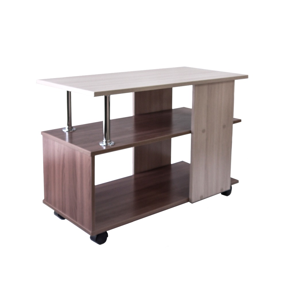 Roll-serving Table, «8» On Wheels. Furniture For The Living Room, Kitchen, Bedroom. Bedside\computer\kitchen Table On Wheels.