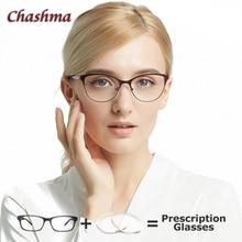 Anti Blue Light Lenses Prescription Eyeglasses Women Driving Glasses Computer Working Cat Eye