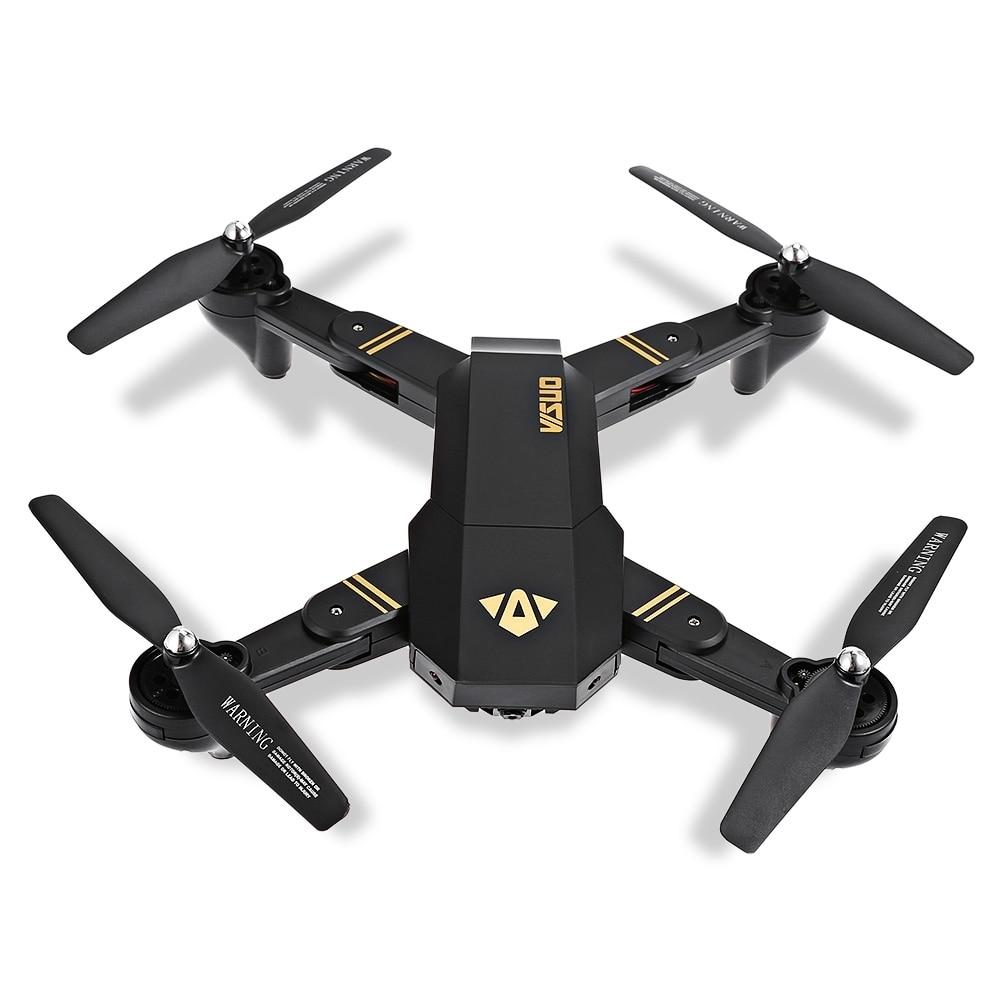 Selfie Drone Con La Macchina Fotografica XS809 XS809w Fpv Dron Rc Drone Rc Elicottero Quadcopter Mini Pieghevole DroneToy Per I Bambini Il Regalo XS809HW