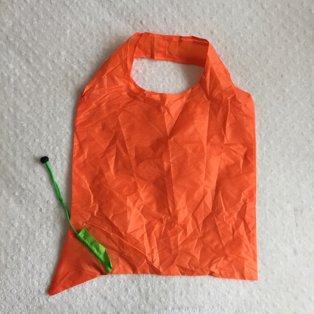 1PC Reusable Carrot Folding Shopping Bag Foldable Eco Nylon Bags Tote Carrier Environmentally Friendly Tote Bag photo review