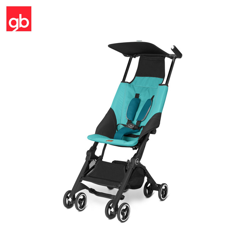 Lightweight Stroller GB Pockit, Walking stroller, ultra compact Kidstravel