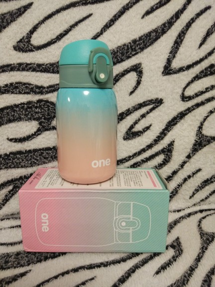 Cute Stainless Steel Thermal Bottle | 220ML 320ML photo review