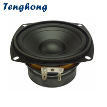 Tenghong 1 pièces 4 pouces étanche milieu de gamme Woofer haut parleur 4/8Ohm 30W salle de bain extérieure pelouse Audio basse haut parleur unité haut parleur