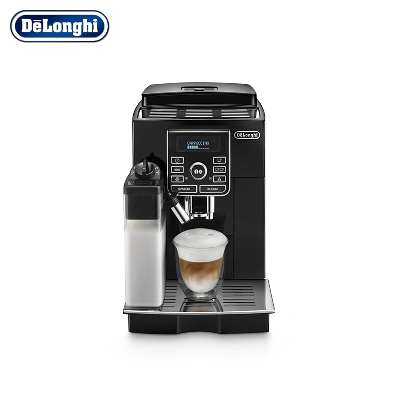 Coffee machine DeLonghi ECAM25.462.B automatic cappuccino kapuchinator espresso coffee maker de longhi детская футболка классическая унисекс printio oblivion