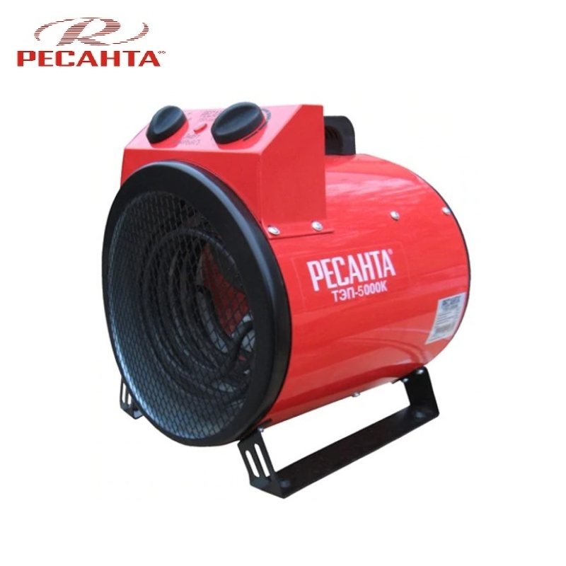 Electric heat gun TEP-5000K Hotplate Facility heater Area heater Space heater electric heat gun resanta tep 2000n compact