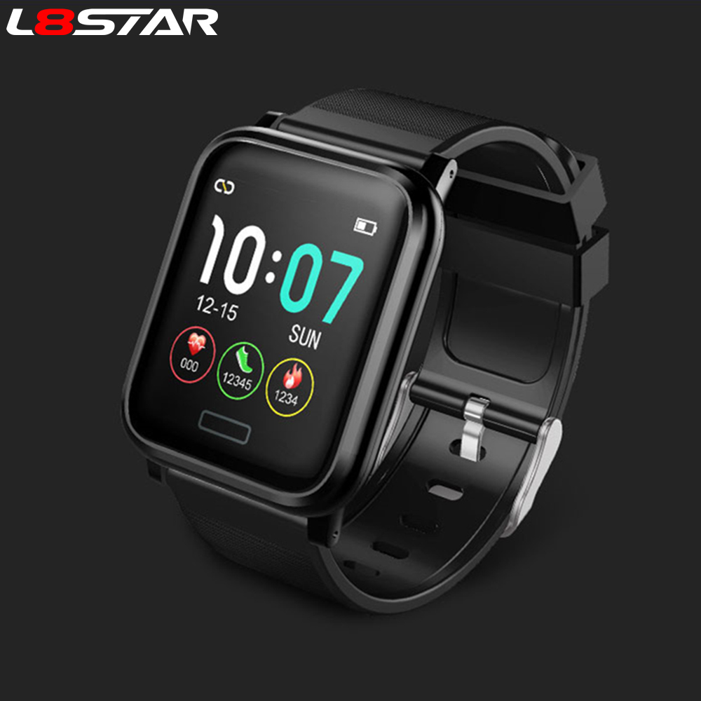 L8STAR Smart Band B1 Super Long Standby Blood Pressure Oxygen Smart Bracelet IP68 Waterproof activity tracker Fitness wristband