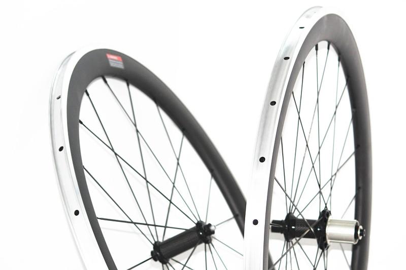 50mm carbon alloy brake wheels 23mm wide U shaped carbon alloy brake wheels carbon clincher 60mm 38mm bicycle wheelset